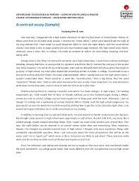 contrast essay  amp  outline  sample contrast essay outline sample      jpg cb