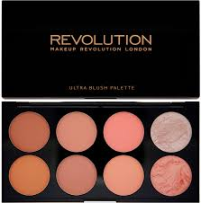 Makeup Revolution <b>Палетка румян</b> Ultra Blush Palette, Hot Spiceр