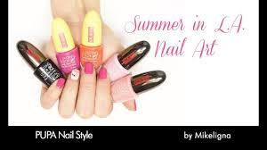 Flamingo #NailArt by Mikeligna | <b>PUPA</b> Nail Style - YouTube