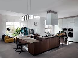 Mobili Per Arredare Sala Da Pranzo : Arredamento cucina e soggiorno insieme cucine moderne