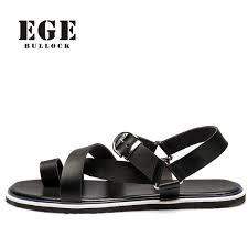 EGE BRAND Men Sandals New Fashion <b>British High Quality</b> ...