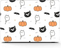 MacBook Pro Case Halloween Theme Cartoon Black ... - Amazon.com
