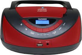 Купить <b>магнитола telefunken tf-csrp3497b черный</b> с красным в ...
