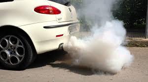 smoke from exhaust, repair, ekzos, asap banyak, masalah enjin