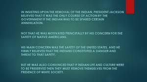 The Hunger For Indian Land In Andrew Jackson S America     The Hunger For Indian Land In Andrew Jackson S America