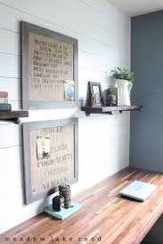 17 Exceptional DIY Home Office Decor Ideas With Tutorials  F