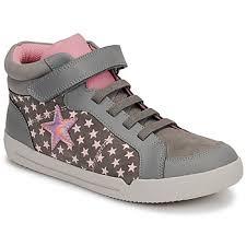 Clarks <b>EMERY</b> BEAT K Grey - <b>Shoes High top</b> trainers Child 59,95 €