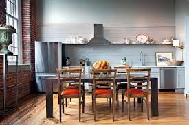 tags eclectic dining room hardwood