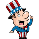 Image result for smiling patriot cartoon