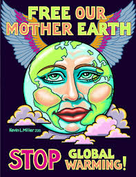 kevin l miller paintings kevin miller art and junk miller our mother earth poster feb 2015