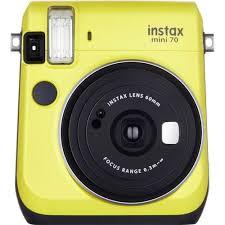 <b>Фотоаппарат Fujifilm Instax Mini</b> 70 Yellow EX моментальной ...
