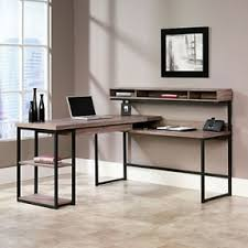 rustic charm office desk neutral colors absolutely love this transit beautiful office desks shaped 5