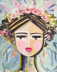 Warrior <b>Girl</b> Print <b>woman</b> art impressionist modern <b>abstract girl</b> paper ...