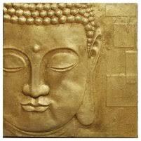 Peaceful Gold <b>Buddha</b> 3D <b>Wall</b> Art | Furniture in <b>Fashion</b>