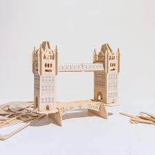 Woodcraft <b>Tower Bridge Model</b>