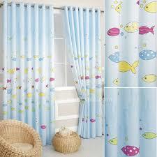 kids bedroom lamp fish home gt kids curtains gt light blue fish kids bedroom long length
