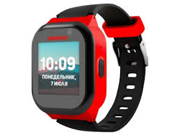 Купить <b>Умные часы GEOZON</b> LTE (<b>4G</b>) черно-красные по цене от ...