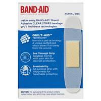 Buy <b>Band</b>-<b>Aid Clear</b> Strips 40 Pack Online at Chemist Warehouse®