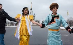 The Moscow Buryats celebrated Buddhist <b>New Year</b> at VDNH with ...