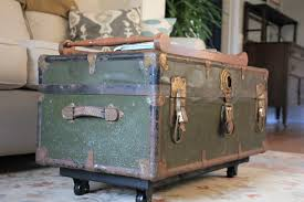 room vintage chest coffee table:  coffee table storage trunk coffee table on wheel trunk coffee table target remarkable trunk