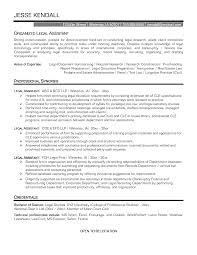 legal secretary cv example sample resume for inexperienced legal sample legal