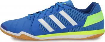 <b>Бутсы</b> мужские <b>adidas Top Sala</b> синий/белый цвет — купить за ...