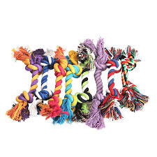 <b>1PC New</b> 17cm Random Color Dogs <b>Cotton Rope</b> Chew Toys Pets ...