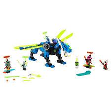 Купить <b>конструктор LEGO NINJAGO</b> 71711 <b>Кибердракон</b> Джея ...