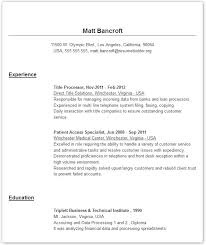 Resume Templates - Give your resume a professional look