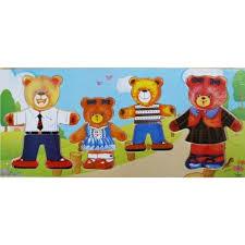 Купить Игра-<b>пазл</b> Четыре медведя в магазине Умный карапуз