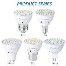 GU10 <b>Led</b> 220V Light Bulbs <b>E14 Spot Light</b> E27 Corn Lamp 2835 ...