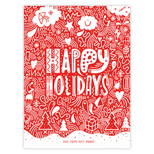 11 happy holiday card templates images happy holiday greeting happy holiday greeting card template