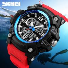SKMEI Military <b>Sports Outdoor</b> Men's <b>Watches</b> Dual Display <b>Digital</b> ...