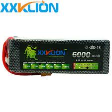 New <b>XXKLION</b> 6S 22.2V 6000mah 30C <b>Lipo</b> remote control ...