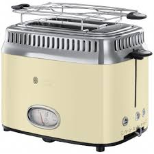 <b>Тостер Russell Hobbs Retro</b> Cream 21682-56