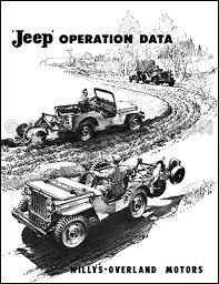 1946 1956 willys cj jeep repair shop manual original cj 2a cj 3a related items
