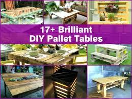 17 brilliant diy pallet table ideas and tutorials amazing diy pallet furniture