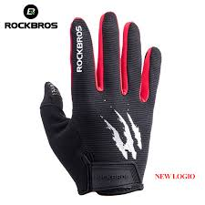 <b>ROCKBROS Touch Screen</b> Bike Bicycle Gloves Full Finger Tactical ...