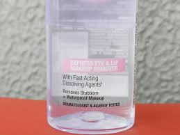 maybelline total clean express eye and lip makeup remover 7