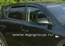 <b>Дефлекторы боковых окон</b> Hyundai I30 2007-2011 <b>темные</b>, 4 ...