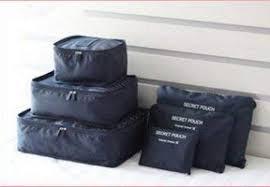 <b>Brand</b> Bucket <b>6Pcs</b>, 1 Set Travel Storage <b>Bag</b>- Royal Blue: Amazon ...