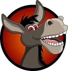 <b>Funny Donkey Head</b> Cartoon Royalty Free Cliparts, Vectors, And ...