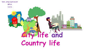 free city and countryside worksheetscity life vs country life