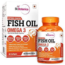 Buy StBotanica <b>Fish Oil 1000mg</b> Advanced Double Strength 650mg ...
