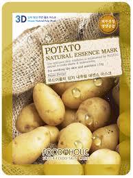 FoodaHolic, <b>Тканевая 3D маска</b> с экстрактом картофеля, 23г ...