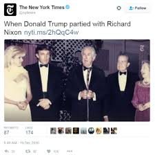 when trump met nixon in h town houston chronicle in 1989 real estate mogul donald trump and his then wife ivana