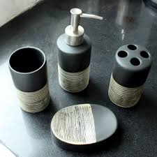bathroom accessories sets gift