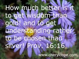 Wisdom Quotes and Scriptures | Cheryl Cope