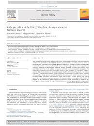 (PDF) Shale gas policy in the United <b>Kingdom</b>: An argumentative ...