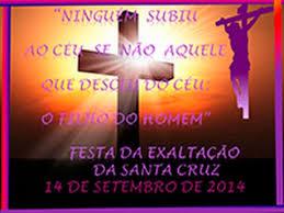 Image result for exaltação da santa cruz